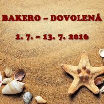 1.–13. 7. 2016 – dovolená